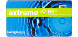 Extreme H2O 59 Percent Thin 6 lenses per box
