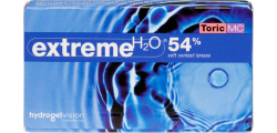 Extreme H2O 54 Percent Toric MC 6 lenses per box