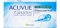 Acuvue Oasys for Presbyopia 6 lenses per box