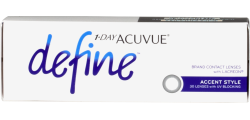 1-Day Acuvue Define 30 lenses per box