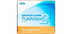PureVision 2 for Astigmatism 6 lenses per box