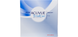 1-Day Acuvue TruEye 90 lenses per box