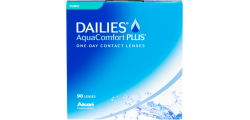 DAILIES AquaComfort Toric 90 lenses per box