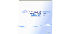 1-Day Acuvue Moist Astigmatism 90 lenses per box