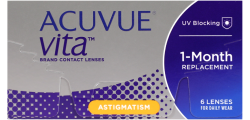 Acuvue Vita for Astigmatism 6 lenses per box