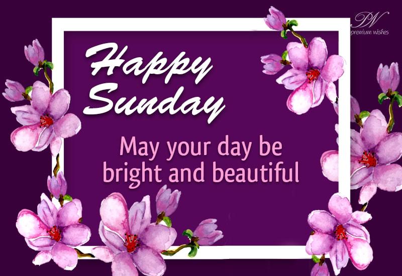 Sunday Wishes Images