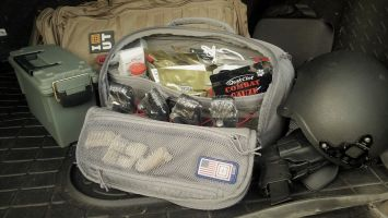 Featured by Para: Image representing the UCR Slingpack Kit, which includes activities, items, and products that help prepare you for that emergency or disaster.