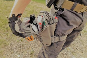 Featured by Para: Image representing the UCR Thigh Rig, which includes activities, items, and products that help prepare you for that emergency or disaster.