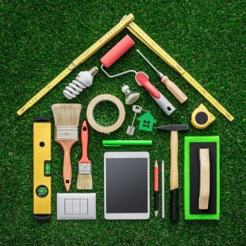 Featured by Para: Image representing the Home Checkup, which includes activities, items, and products that help prepare you for that emergency or disaster.