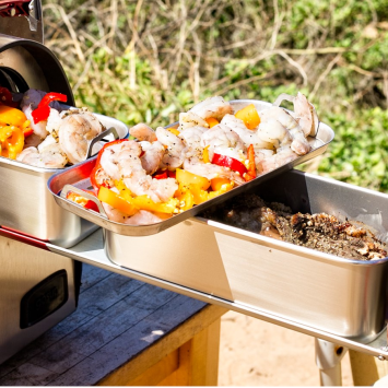 Featured by Para: Image representing the The Glamping Package, which includes activities, items, and products that help prepare you for that emergency or disaster.