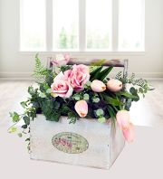 Rose and Tulip box
