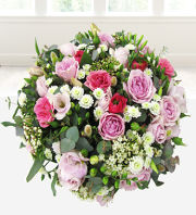 White and Pink Posy