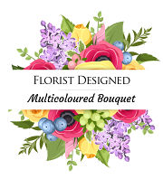 Florist Designed Multi-Coloured
