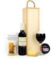 Red Wine & Cheddar