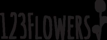 123 Flowers Logo