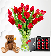 Valentine's Tulips Bundle