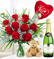 Romantic Rose Sparkling Gift