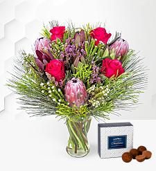 Cerise Protea Bouquet