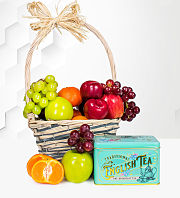 Fruit and Tea Hamper
