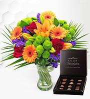 Joyful with Chocolates
