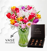 Tulip Supreme with Vase