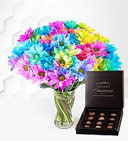 Rainbow Joy with Chocolates