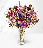 Pretty & Pink Dried Flowers