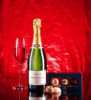 Laurent Perrier and Chocolates