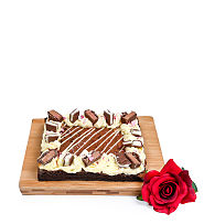 Sharing Brownie Slab