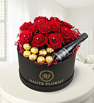 Grand Roses and Prosecco