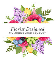 Florist Designed Multi-Colour