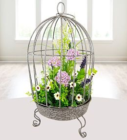 Luxury Floral Cage