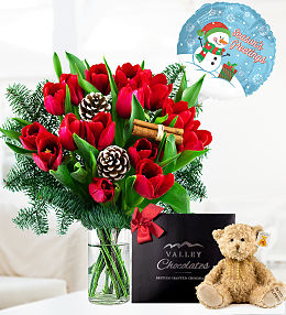 Christmas Tulips Bundle