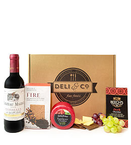 Cheese & Red Wine Gift