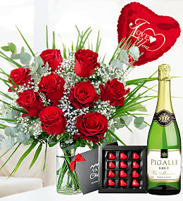 Romantic Rose Deluxe Gift