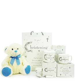 Baby Boy Christening Gift Set