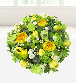 White & Yellow Posy