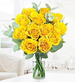Prestige flowers delivery with free chocolates yellow rose charm mightylinksfo