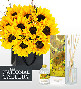 Van Gogh Bouquet and Diffuser