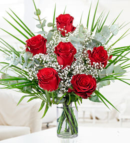 Valentine S Day Flowers At Prestige Flowers Send Roses 12 Roses