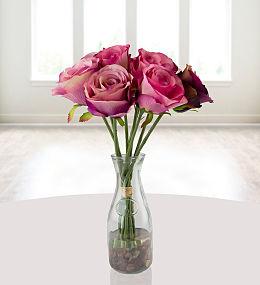 Pink Silk Bouquet