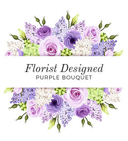 Florist Designed Purple