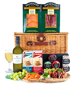 Luxury Fresh Food Basket
