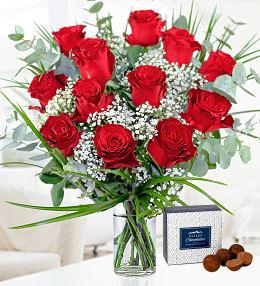 12 Romantic Roses