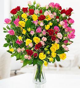 100 Spray Roses