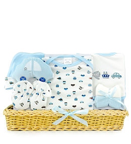 Luxury Baby Boy Basket