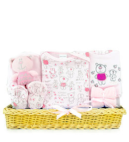 Special Baby Girl Basket
