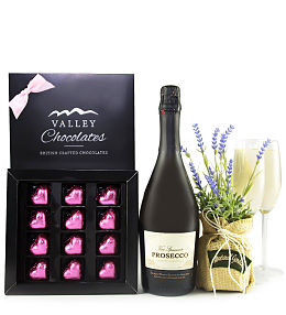Chocolates and Prosecco