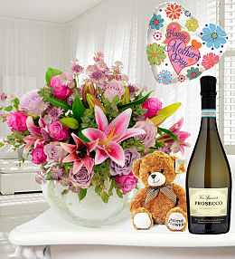 Luxury Bouquet and Bubbles