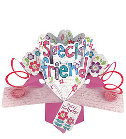 Friend Birthday Pop Card